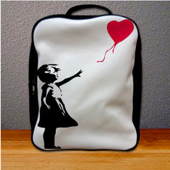 Banksy Balloon Love Graffiti Backpack for Student
