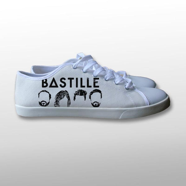 Bastille Logo Icon Canvas Shoes