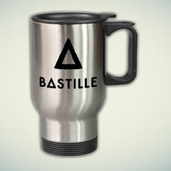 Bastille Logo 14oz Stainless Steel Travel Mug