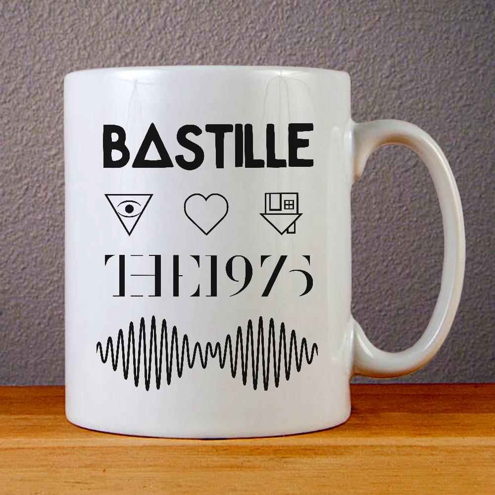Bastille The 1975 and Arctic Monkeys Logo Ceramic Coffee Mugs