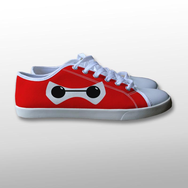 Baymax Eyes Canvas Shoes