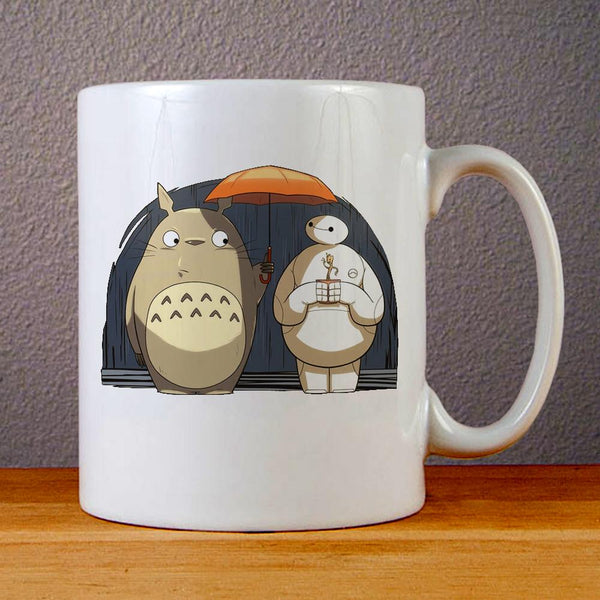 Baymax Totoro Ceramic Coffee Mugs
