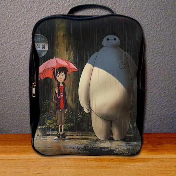 Baymax and Hiro Backpack for Student