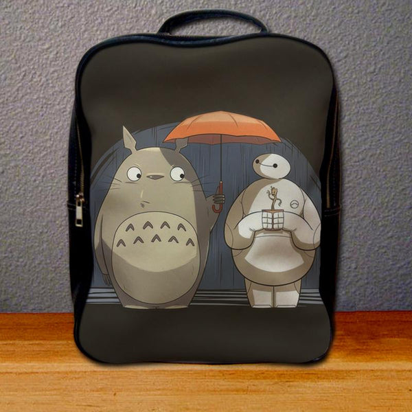 Baymax and Totoro Backpack for Student