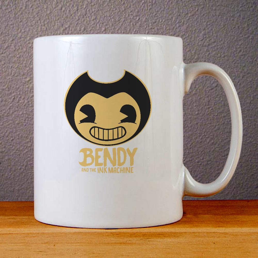Bendy and The Ink Machine Logo Ceramic Coffee Mugs