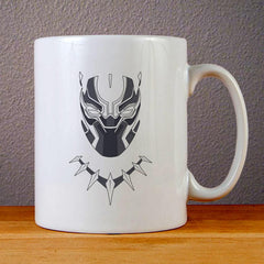 Black Panther Logo Ceramic Coffee Mugs
