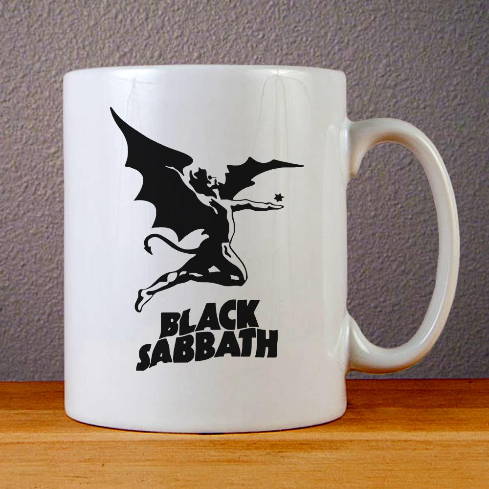 Black Sabbath Logo Ceramic Coffee Mugs