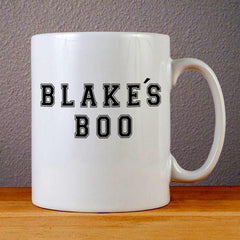 Blake's Boo Ceramic Coffee Mugs