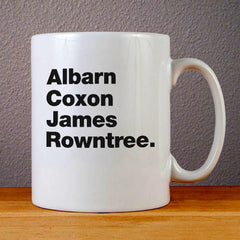 Blur Band Members Ceramic Coffee Mugs