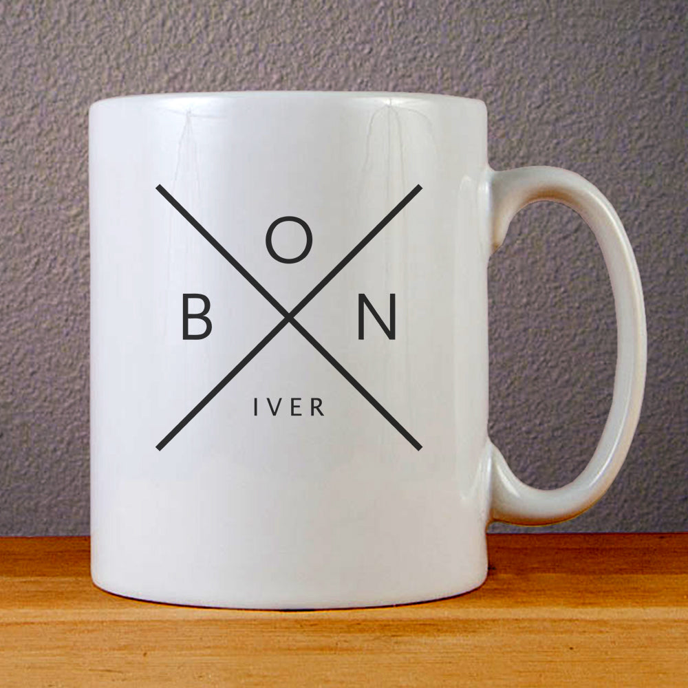 Bon Iver Logo Ceramic Coffee Mugs