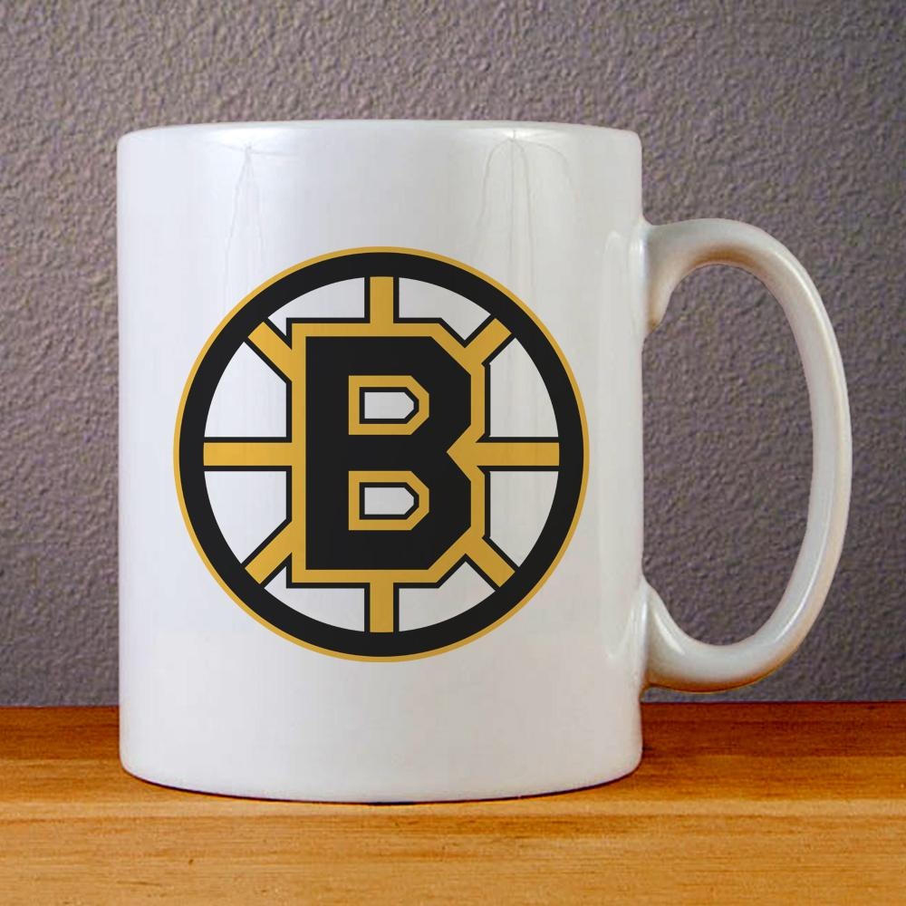 Boston Bruins Logo Ceramic Coffee Mugs