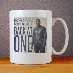 Brian McKnight Back at One Cover Ceramic Coffee Mugs