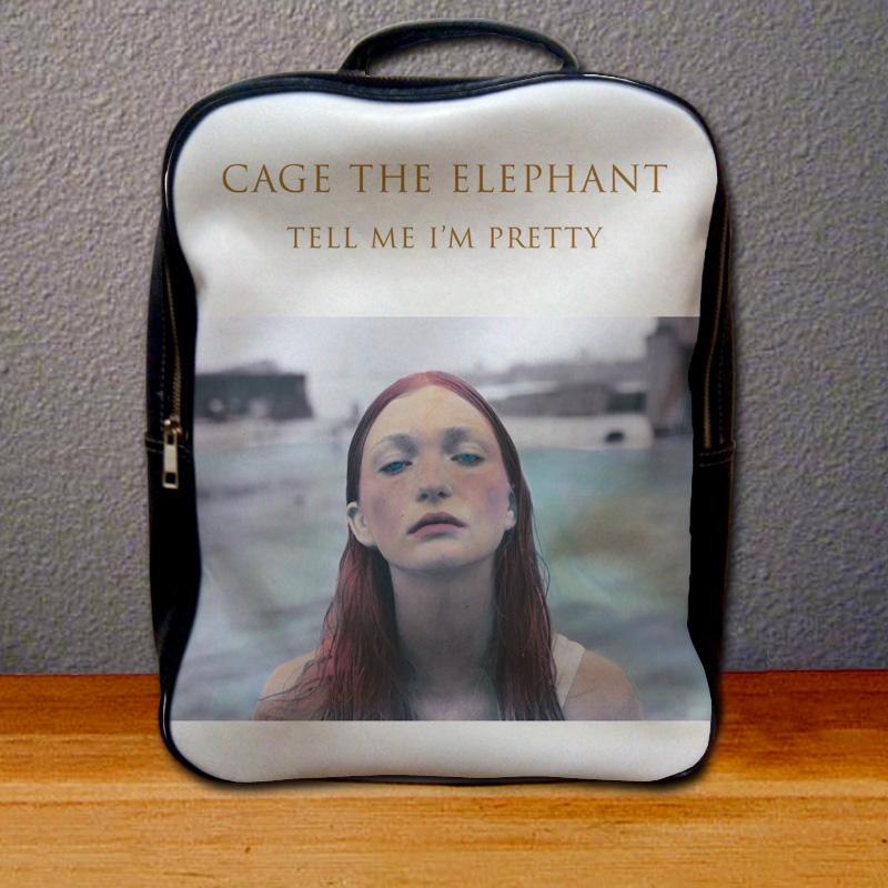 Cage The Elephant Tell Me Im Pretty Backpack for Student
