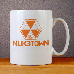 Call of Duty Black Ops Nuketown Logo Ceramic Coffee Mugs