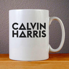 Calvin Harris Logo Ceramic Coffee Mugs