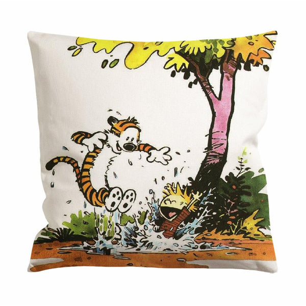 Calvin Hobbes Cushion Case / Pillow Case