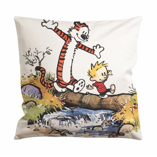 Calvin and Hobbes Easter Cushion Case / Pillow Case