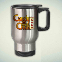 Candy Crush Saga 14oz Stainless Steel Travel Mug