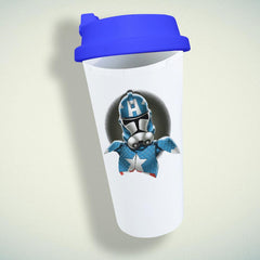 Captain America Storm Trooper Double Wall Plastic Mug
