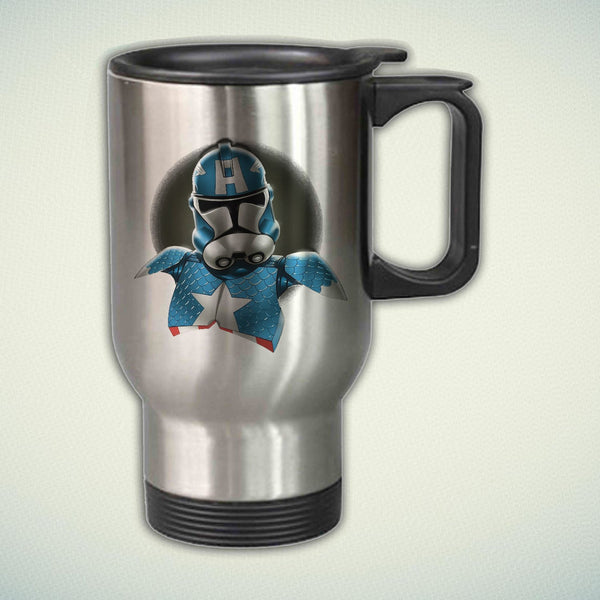 Captain America Storm Trooper 14oz Stainless Steel Travel Mug