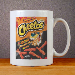 Cheetos XXtra Flamin Hot Ceramic Coffee Mugs
