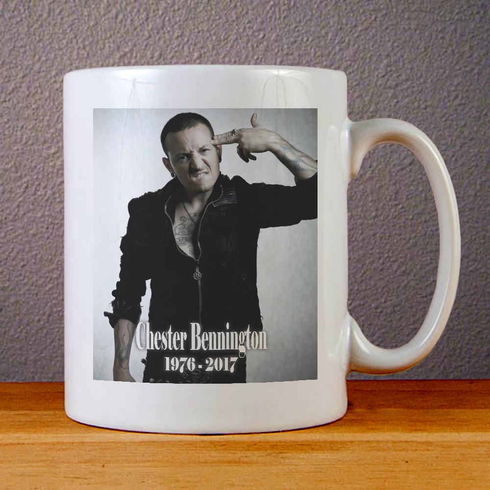 Chester Bennington Ceramic Coffee Mugs