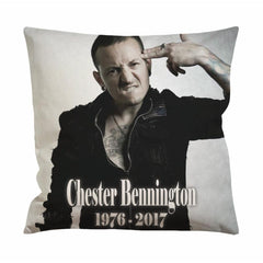 Chester Bennington Cushion Case / Pillow Case