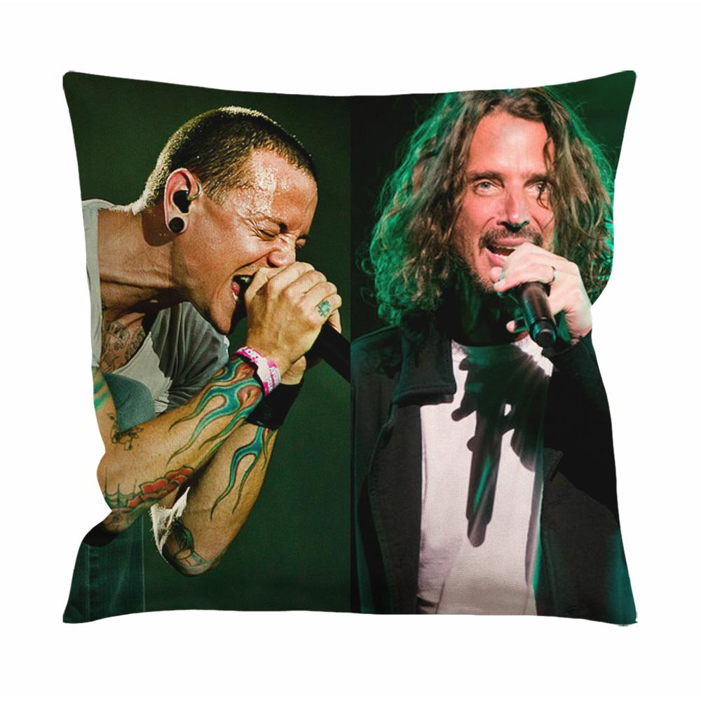 Chester Bennington and Chris Cornell Cushion Case / Pillow Case