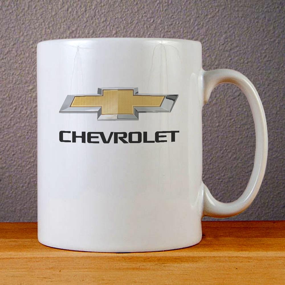Chevrolet Logo Ceramic Coffee Mugs