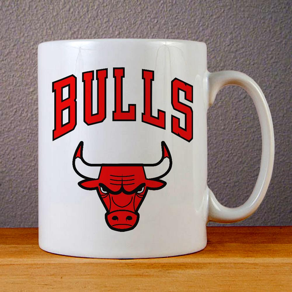 Chicago Bulls Logo Ceramic Coffee Mugs