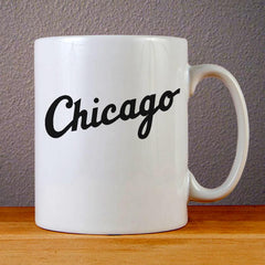 Chicago White Sox Jersey Logo Ceramic Coffee Mugs