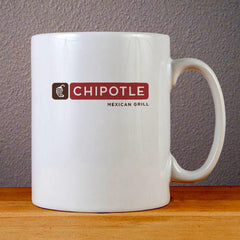 Chipotle Mexican Grill Logo Ceramic Coffee Mugs