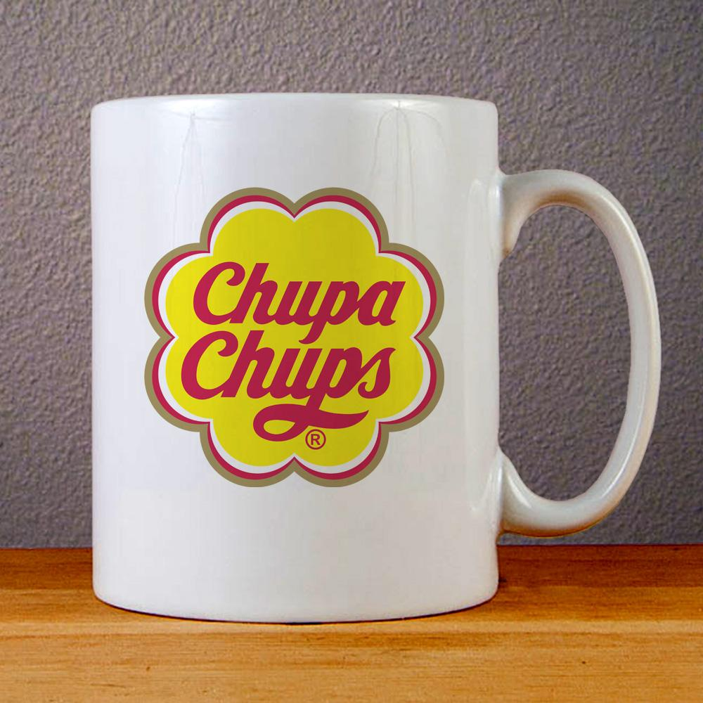 Chupa Chups Logo Ceramic Coffee Mugs
