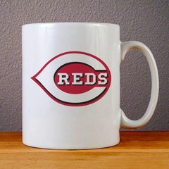 Cincinnati Reds Logo Ceramic Coffee Mugs