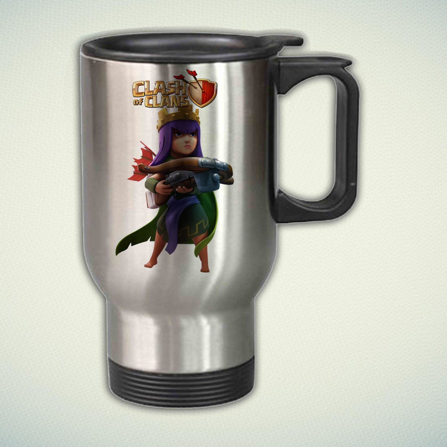 Clash of Clans Archer Queen 14oz Stainless Steel Travel Mug