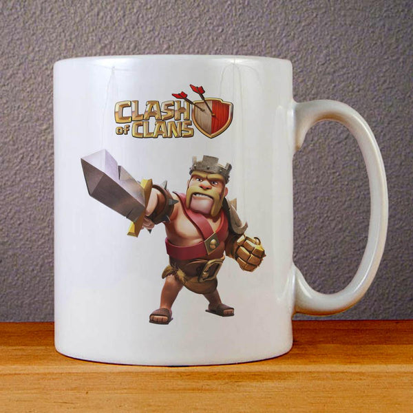 Clash of Clans Barbarian King Ceramic Coffee Mugs