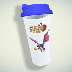 Clash Of Clans Dragons Double Wall Plastic Mug