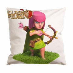 Clash Of Clans Girl Archer Cushion Case / Pillow Case