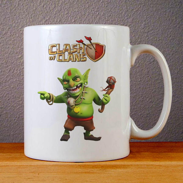 Clash of Clans Goblin King Ceramic Coffee Mugs