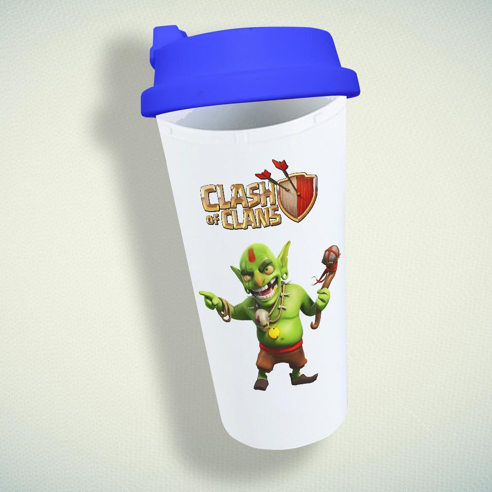 Clash Of Clans, Goblin Double Wall Plastic Mug