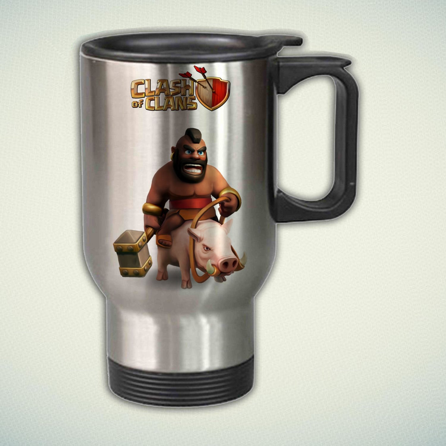 Clash of Clans Hog Rider 14oz Stainless Steel Travel Mug