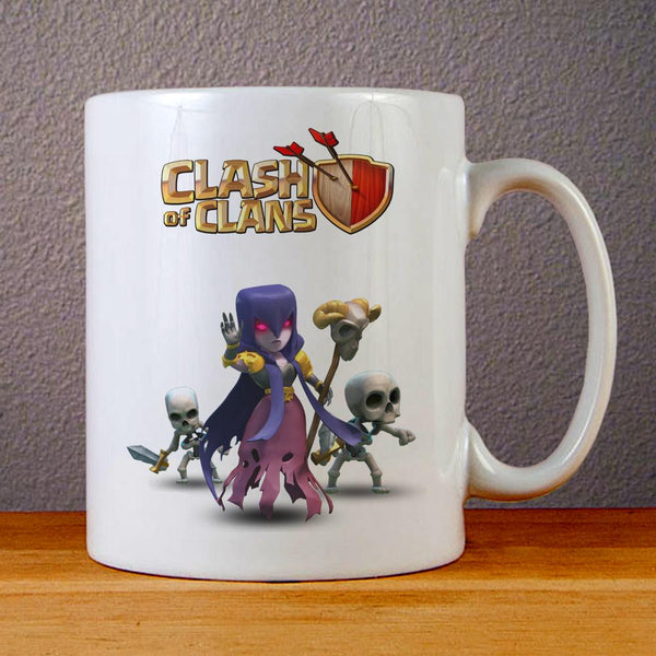 Clash of Clans Witch Ceramic Coffee Mugs