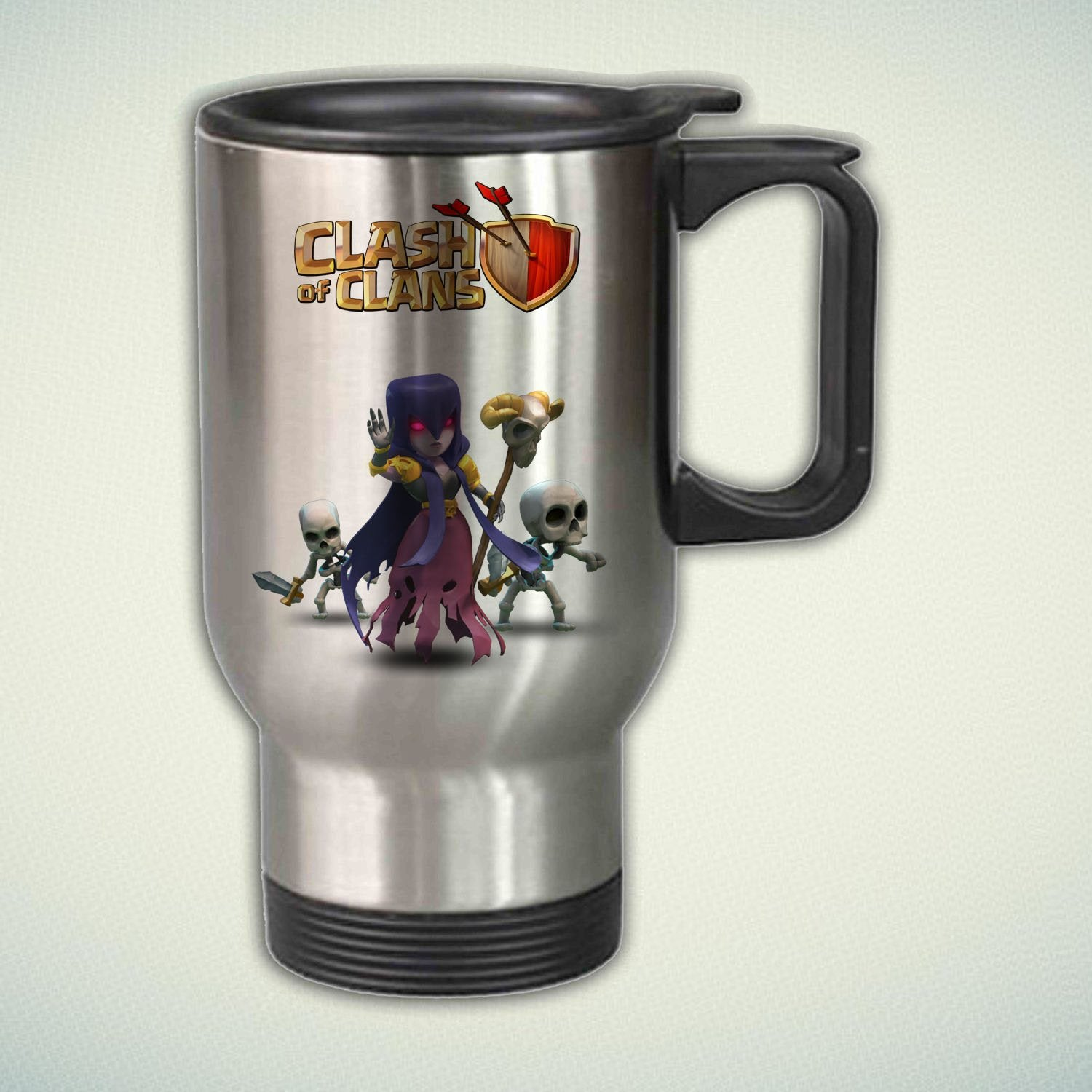 Clash of Clans Witch 14oz Stainless Steel Travel Mug