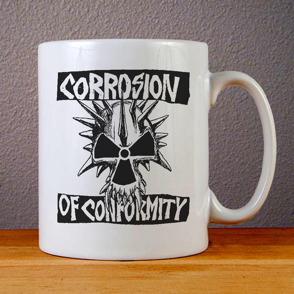 Corrosion of Conformity Logo Ceramic Coffee Mugs