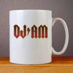 DJ AM Logo Ceramic Coffee Mugs