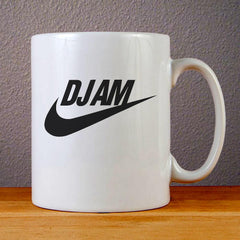 DJ AM Parody Logo Ceramic Coffee Mugs