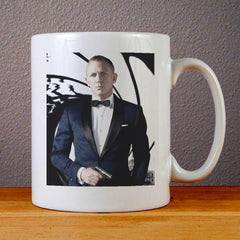 Daniel Craig James Bond 007 Ceramic Coffee Mugs