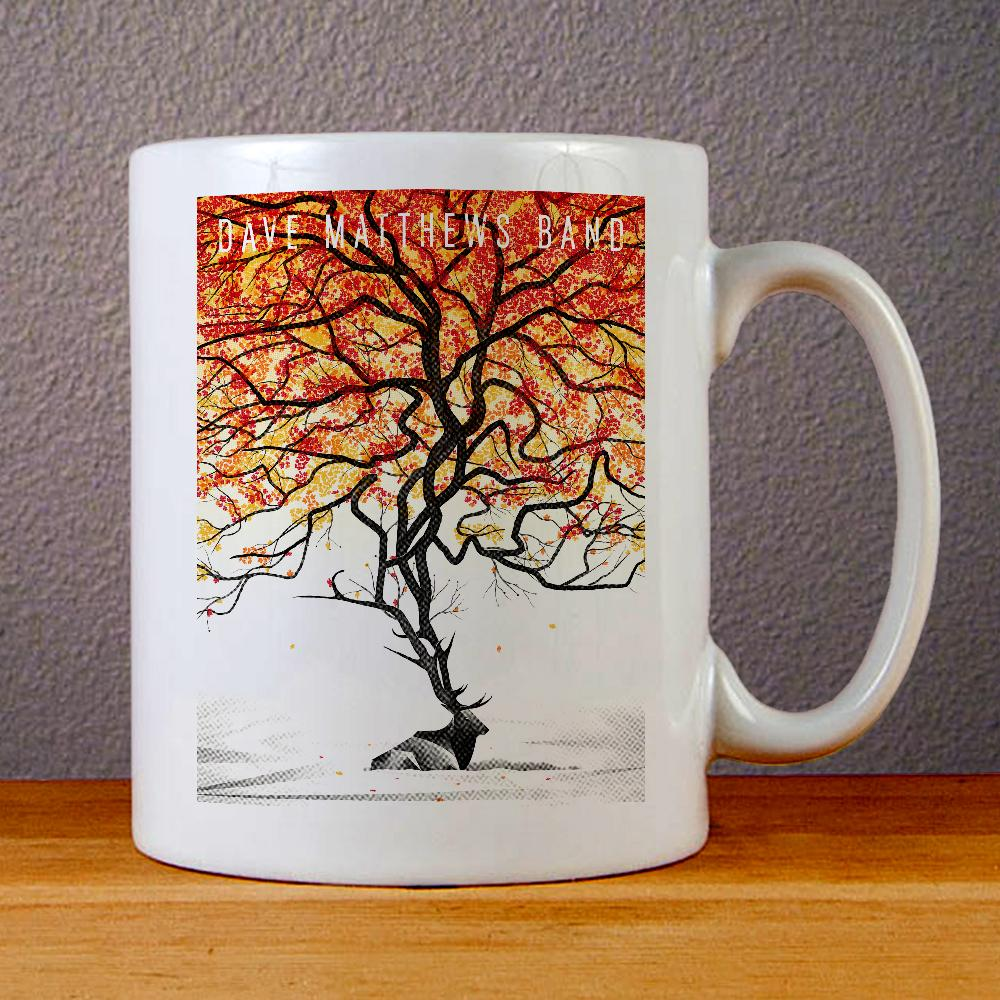 Dave Matthews Band, Browning Deer Logo Ceramic Coffee Mugs