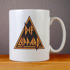 Def Leppard Logo Ceramic Coffee Mugs