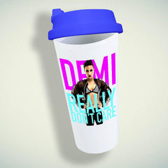 Demi Lovato, Really Don'T Care Cover Double Wall Plastic Mug
